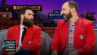 Tony Hale & Jason Schwartzman Pick Actors to Voice Their Dogs