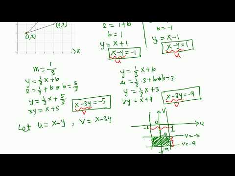 Calc III: Double Integral using change of variables