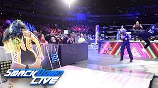 Naomi helps Jimmy Uso defeat Rowan: SmackDown LIVE, April 24, 2018