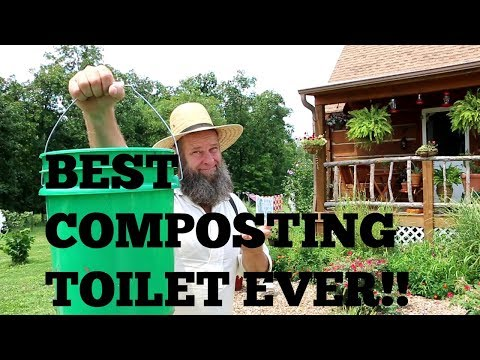BEST COMPOSTING TOILET SYSTEM EVER!!