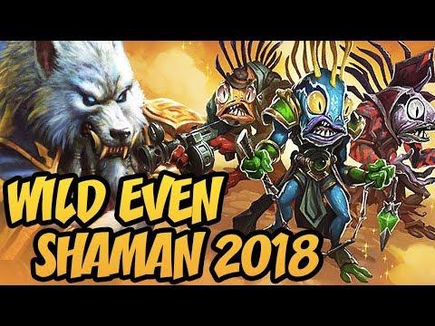 Hearthstone: Wild Even Shaman 2018