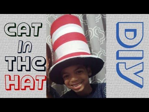 CAT IN THE HAT HAT DIY