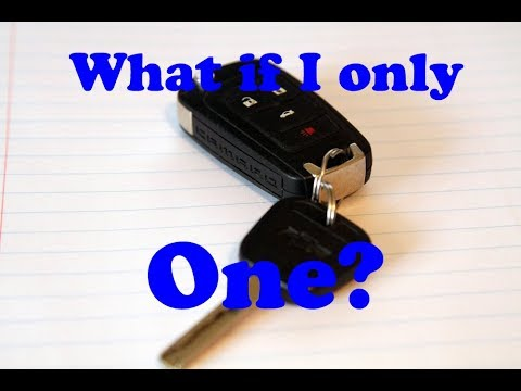 How to program replacement keyfob key fob for 2011 to  2015 Camaro if you do not have a working one