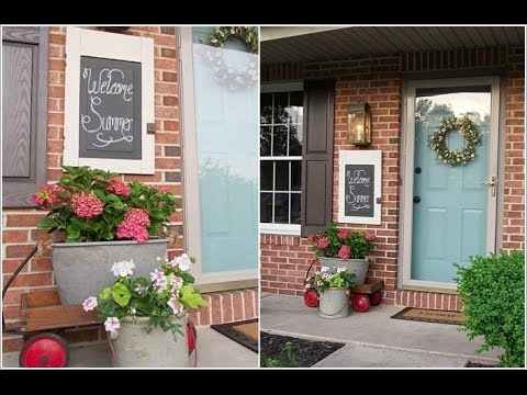 Unique Home Front Decor Features That will Add Curb Appeal
