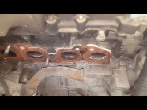 how to fix 2.5 Nissan exhaust manifold replacement