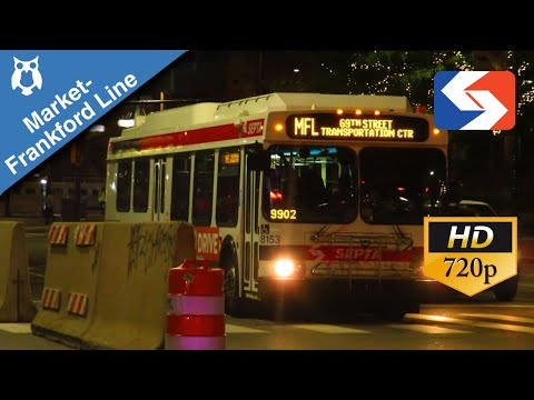 SEPTA Ride: 2009 New Flyer DE40LF #8336 on the Market Frankford Owl