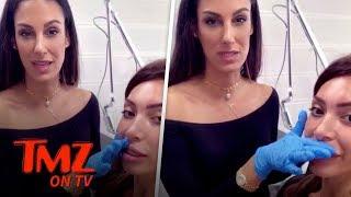 Farrah Abraham Removes Her Lip Fillers Like Kylie | TMZ TV
