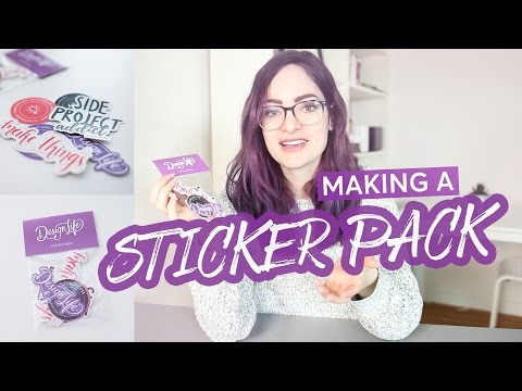 How to create a sticker pack | CharliMarieTV