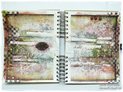 Tutorial Mixed Media Journal Page 'Lucky' for Finnabair Creative Team