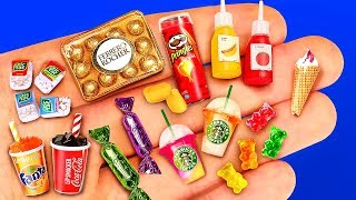 24 DIY MINIATURE FOOD REALISTIC HACKS AND CRAFTS