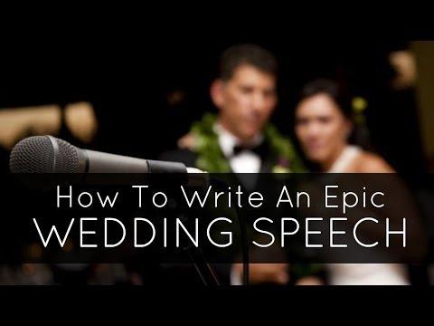 How To Write A Wedding Speech. How to Write your Best Man Speech or Maid of Honour Speech