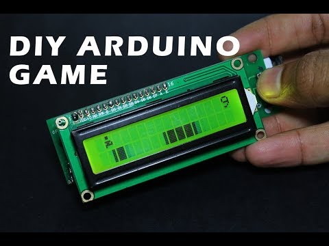 How to make Arduino based Video game