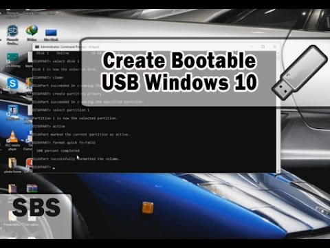 Best way to Create Windows 10 USB Bootable Flash Drive