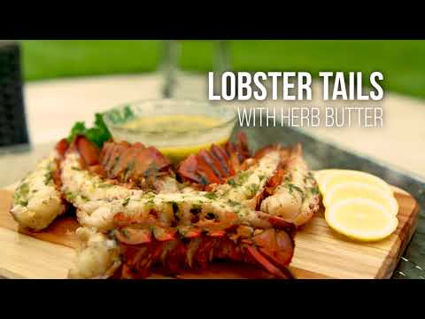 Herb Butter Lobster Tails