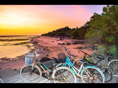 Explore #Gili Trawangan by bicycle   November 2018   #Bali Tour