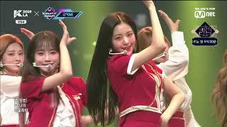 190912 아이즈원(IZ*ONE) - 비올레타(Violeta) / Mnet KCON 2019 LA X M COUNTDOWN