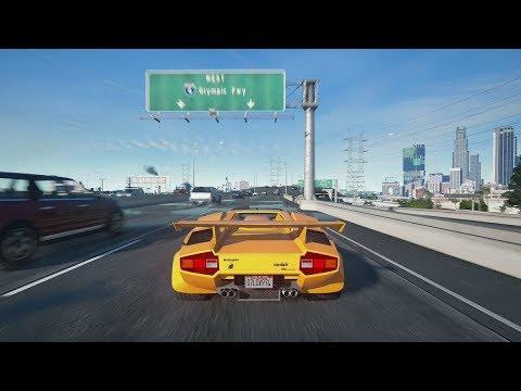 GTA  San Andreas com Gráficos Ultrarrealistas (Assistindo)