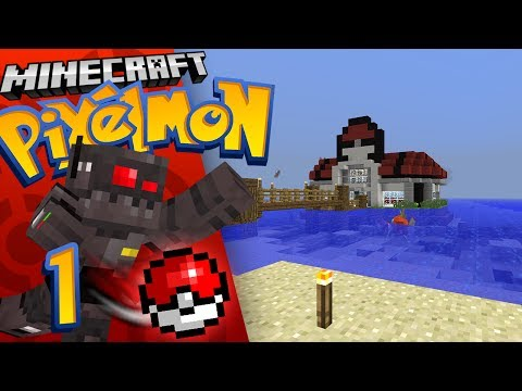 Minecraft Pixelmon Server Episode 1: The Basics