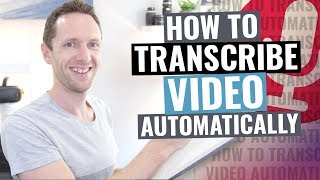 Download How to Transcribe Audio to Text (Video Transcription Tutorial!)