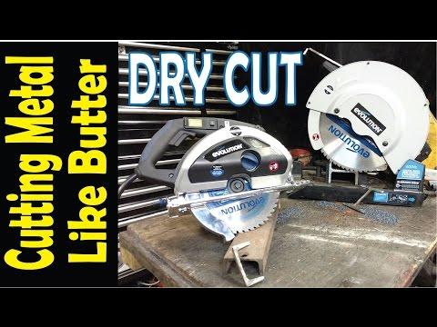 Metal Cutting Circular Saw and Chop Saw
