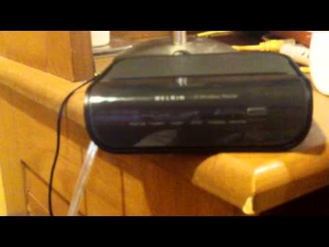 Belkin Wireless G v4 Router.  (old Version)