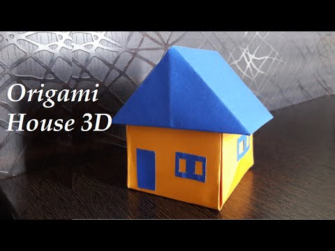 How to make an Origami House - Paper House