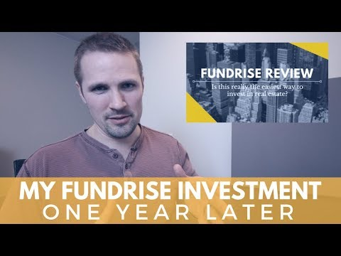 My Fundrise Investment - 1 Year Later (2018 Update)