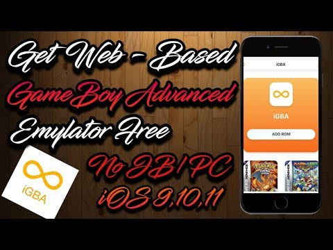 iGBA - How To Get Web Based Emulator GameBoy Advanced (No Jailbreak/PC) iOS,Android,PC