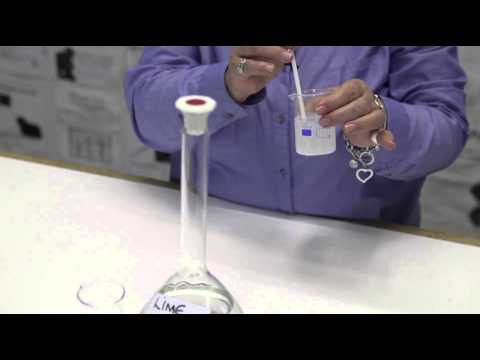 CO₂ test with lime water