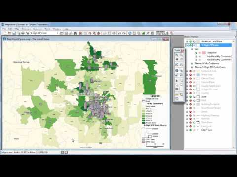 Maptitude 2016 Wizard: Sales Mapping, ZIP Code Mapping, Heat Mapping, Geocoding