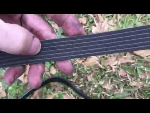 '99 JEEP CHEROKEE DRIVE BELT REPLACEMENT- GATES MICRO-V