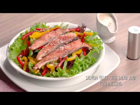 Tefal Everest Cookware - Salmon Salad
