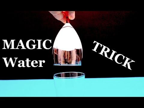 Amazing Magic Water Trick! Trick Revealed.