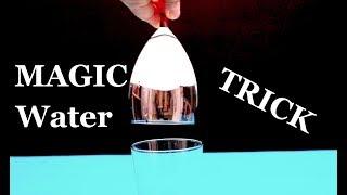 Amazing Magic Water Trick! Trick Revealed.
