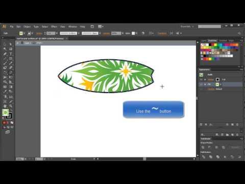 Creating Patterns in Illustrator CS6
