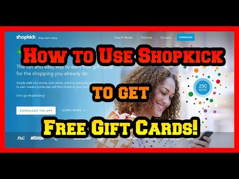Shopkick Tutorial How To Get And Redeem Kicks Target Series Video 1