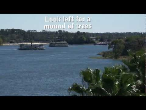 How to see Spaceship Earth at Epcot from the Magic Kingdom monorail