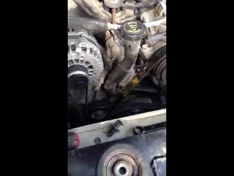 How To; Serpentine Belt Replacement and fan removal, Gmc/Chev 6.6L Duramax (Lbz).
