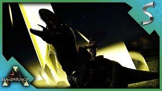 MEGALOSAURUS TAMING! CHITIN CAVE ADVENTURE! | Ark: Survival Evolved