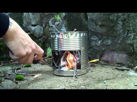 How to...make a Hobo stove! HD