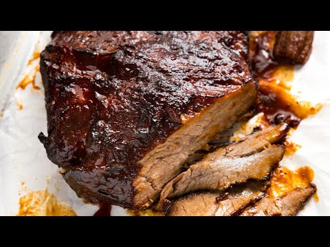 Slow Cooker Beef Brisket with BBQ Sauce
