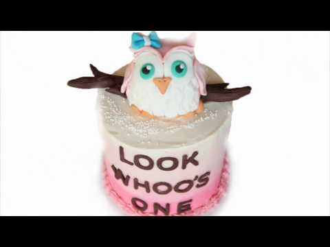 Owl Birthday Cake | Owl Cake Topper | Celebration Cake | Creativity with Sugar