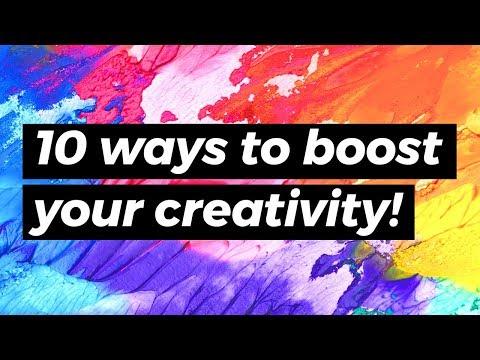 10 Ways to Boost Creativity & Overcome Artist's Block! | Sea Lemon