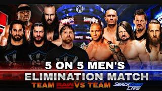 WWE SURVIVOR SERIES 2018 Dream Match Card......