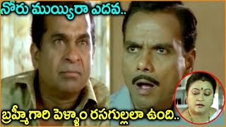 Brahmanandam, L.b. Sriram || Telugu Movie Scenes || Best Comedy Scenes || Shalimarcinema