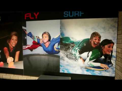 Indoor skydive at Twinwoods Adventure