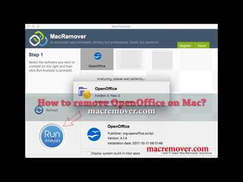 How to Remove OpenOffice on your macOS and Mac OS X?