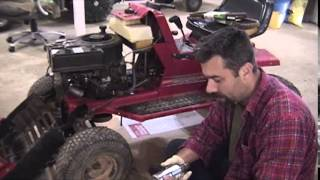 Make your Riding Mower Quieter for less then $30. A custom exhaust for mowers and tractors.