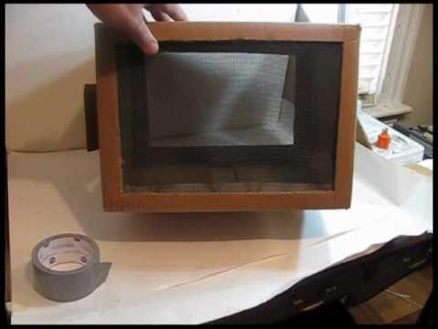 Make a butterfly box