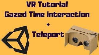 Gaze UI (Headset Pointer) | Unity VR Tutorial (VRTK) #4 - Syntonic